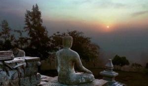 buddha sunrise