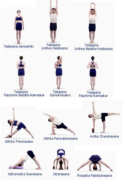 Standing Yoga Poses And Names